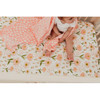 Blush Blooms Crib Sheet