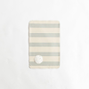 Luxury Diaper Changing Mat, Blue Stripe