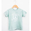 Organic Cotton Tee, Don't Worry Be Hippie