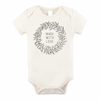 Organic Cotton Bodysuit, Made With Love