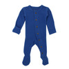 Organic Thermal Footed Overall, Sapphire