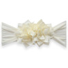 Holiday Poinsettia Bow, Ivory
