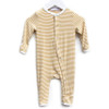 One Piece Snap Romper, Beeswax