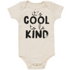 Organic Cotton Bodysuit, Cool to be Kind