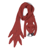 Oeuf Squirrel Scarf in Brick