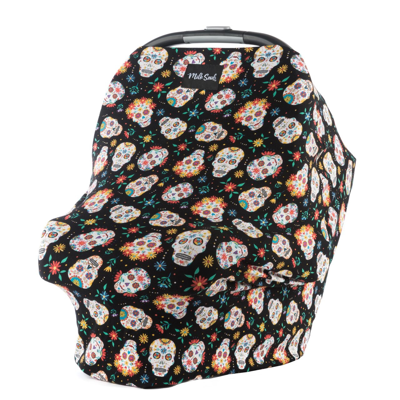 Milk Snob Car Seat Cover Sugar Skulls