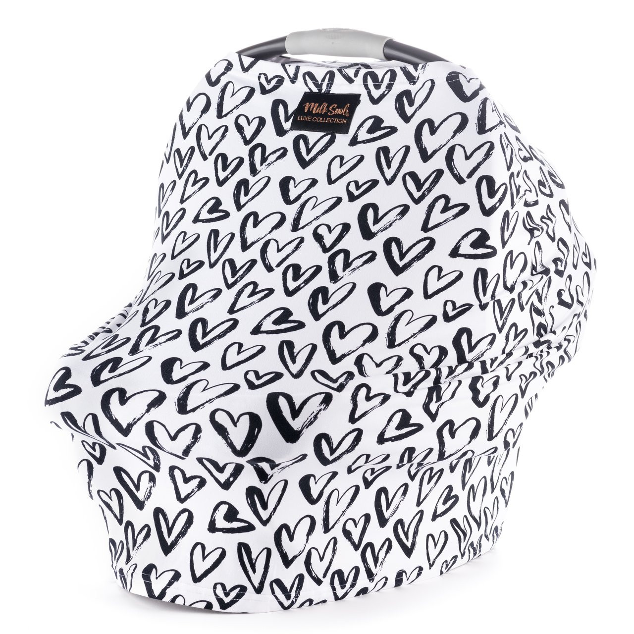 Luxe Milk Snob Car Seat Cover Hearts