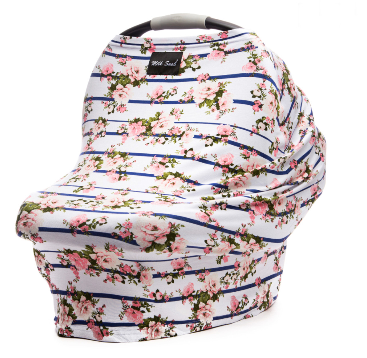 Milk Snob Car Seat Cover Hampton Rose