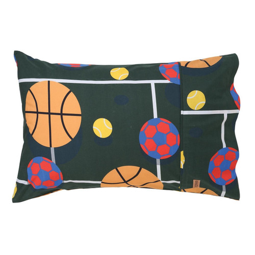Balls Up Single Pillowcase
