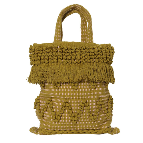 Boho Palm Green Bag