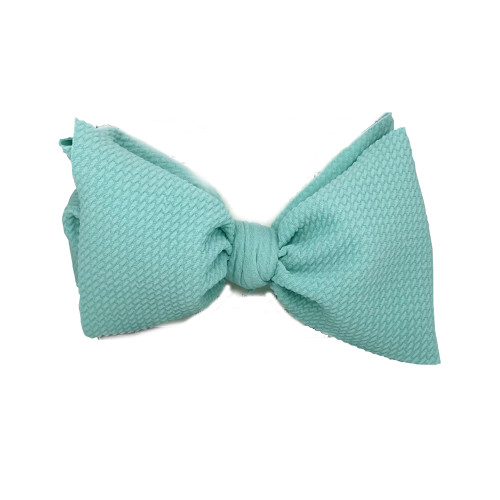 Stretch Headwrap Bow, Mint
