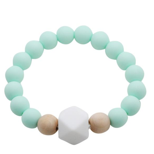 Mom's Teething Bracelet, Minty