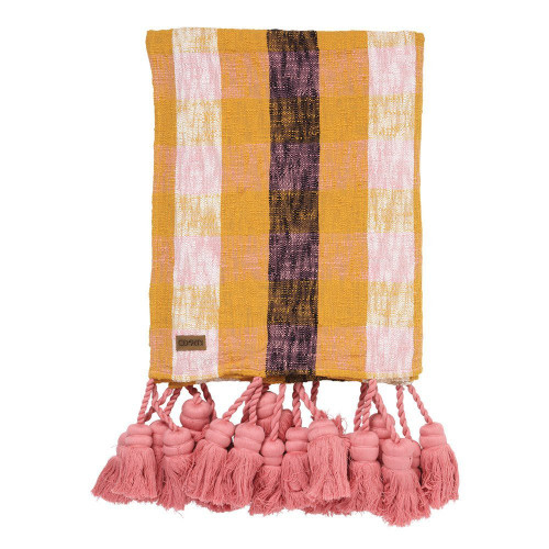 Deserted Tassel Throw