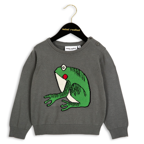 Mini Rodini Frog Sweater
