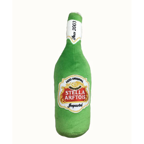 Dog Toy,  Stella Arftois Beer Bottle