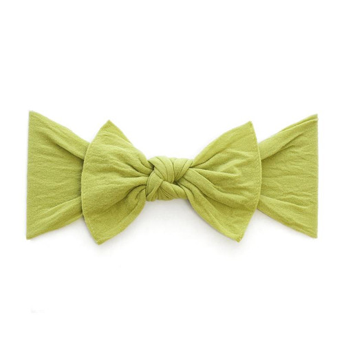 Knot Bow, Olive