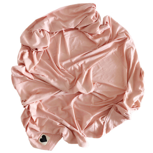 Jersey Stretch Swaddle, Dusty Rose