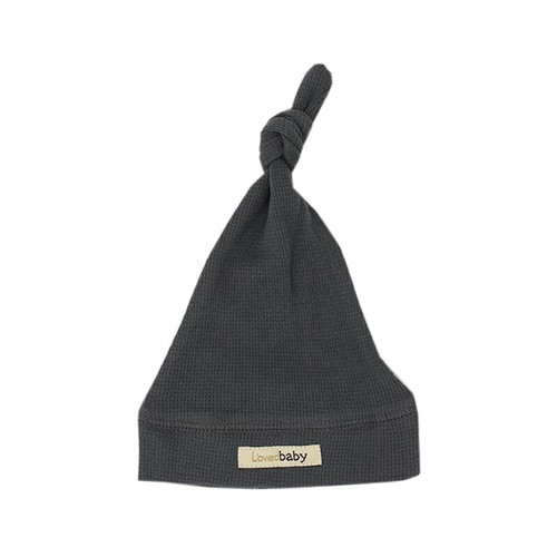 Organic Thermal Knotted Cap, Graphite