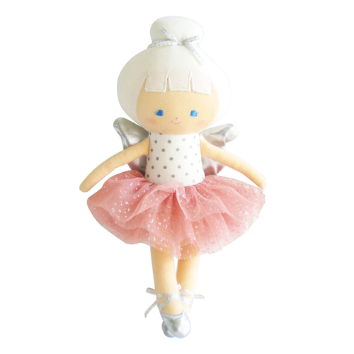 Baby Christmas Fairy, Blush/Silver