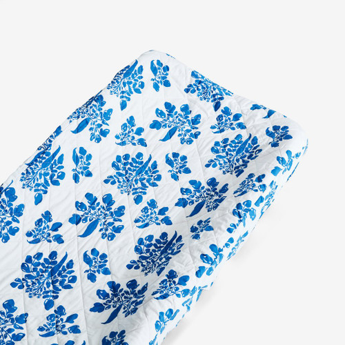 Organic Changing Pad Cover, Marine Parsnip