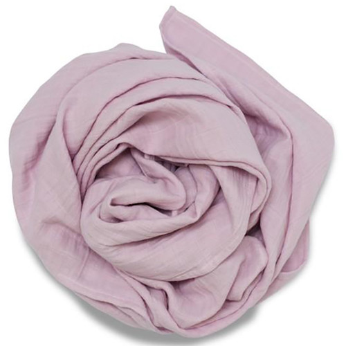 Pigment Organic Swaddle Scarf, Pink Lilac