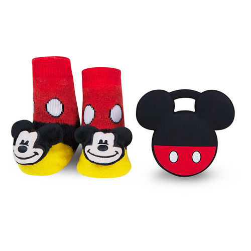 Mickey Mouse Teether Gift Set