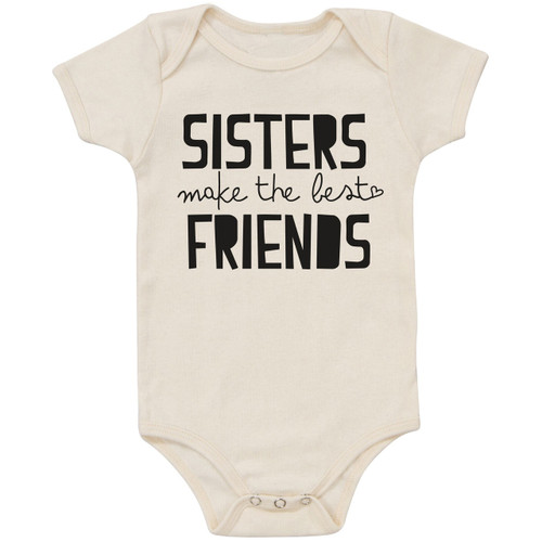 Organic Cotton Bodysuit, Sisters