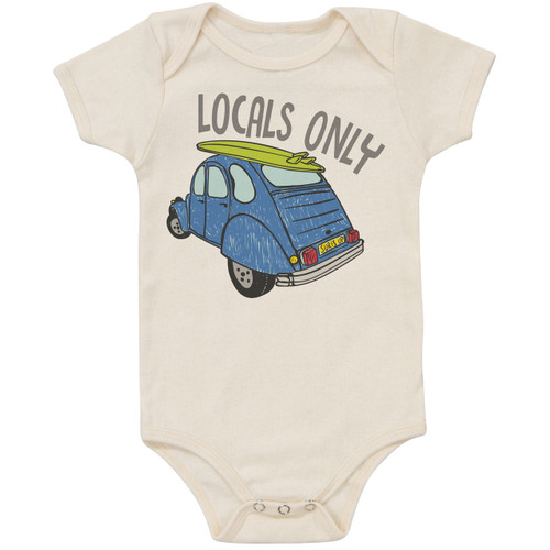 Organic Cotton Bodysuit, Locals Only