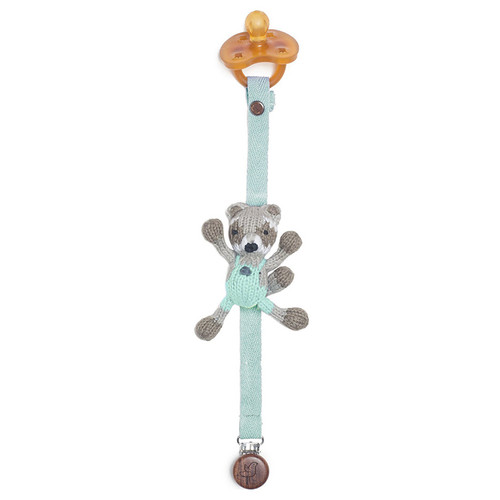 Pacifier Holder, Raccoon