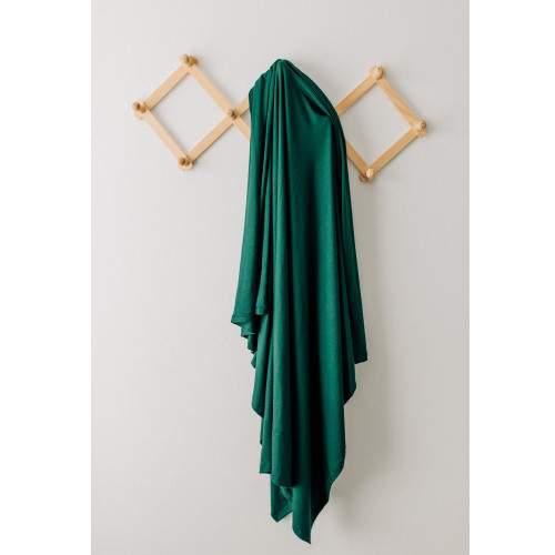 Jersey Stretch Swaddle, Forest