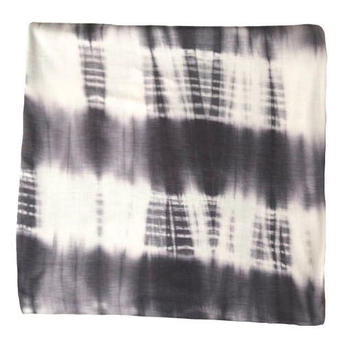 Jersey Stretch Swaddle, Grey Tie Dye