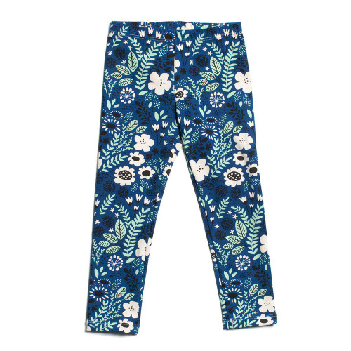 Organic Cotton Leggings, Wildflowers