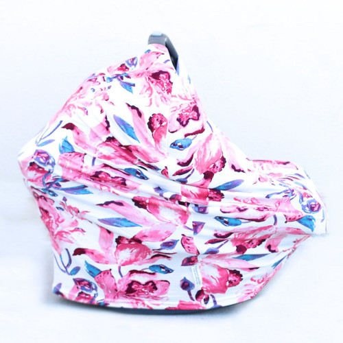 Covered Goods Multi Use Car Seat Cover, Paradise Floral
