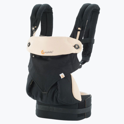 Ergo 360 Four Position Baby Carrier, Black/Camel