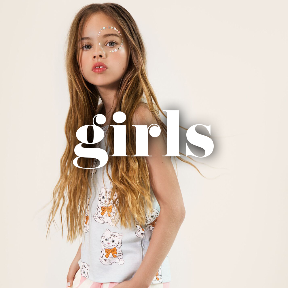 Girls clothing and accessories
