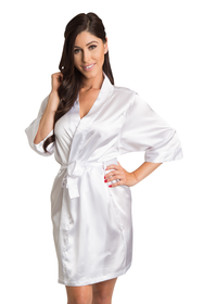 Luxury Satin Robe - Available in 33 Colors