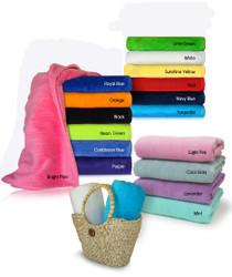 Beach Towel Color Chart