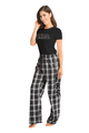 Mrs. Flannel Pajama Pants Set