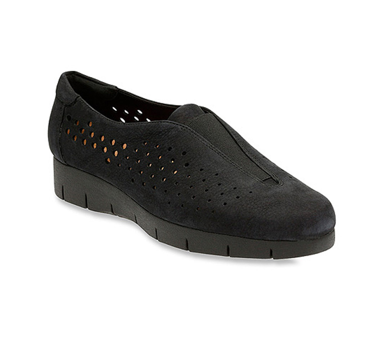 Clarks Daelyn Summit Black Nubuck Women