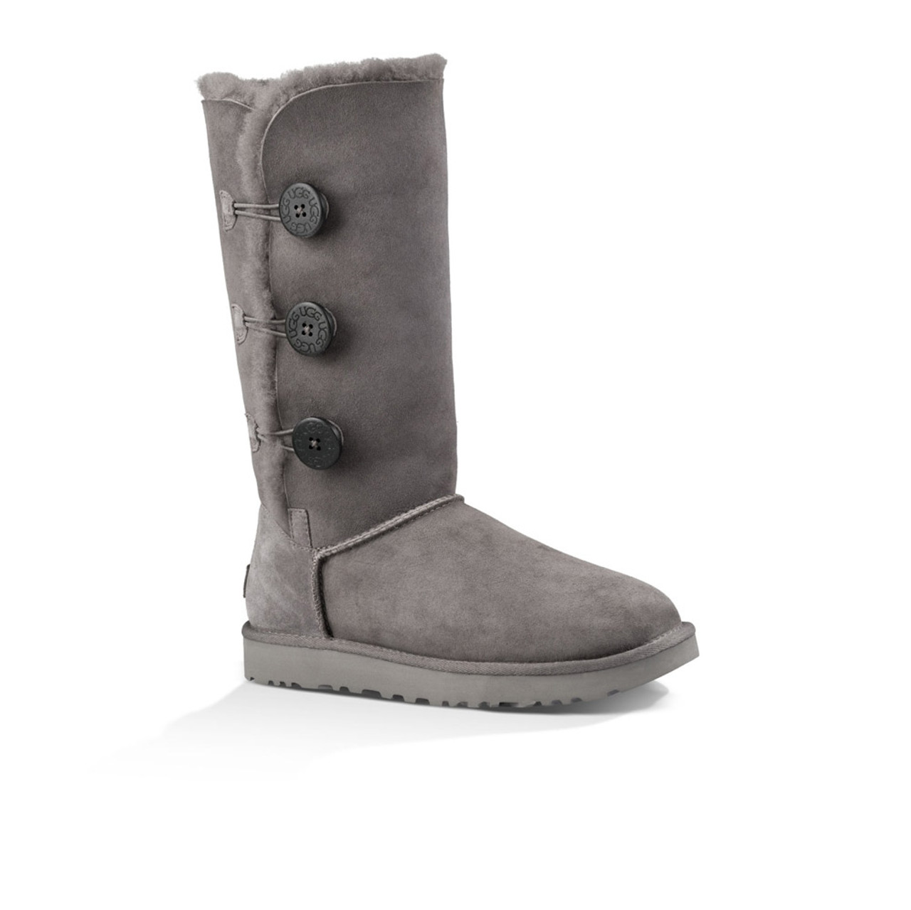 UGG Women's Bailey Button Triplet II Boot Grey - Shop now @ Shoolu.com