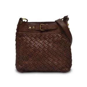 Anabaglish Women's Woven Joan Crossbody Bag