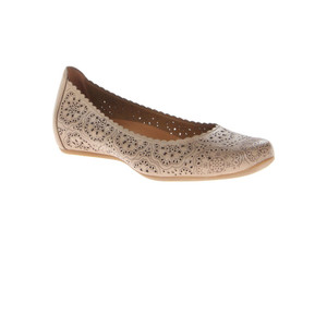 Earthies Women's Bindi Flat Biscuit Leather