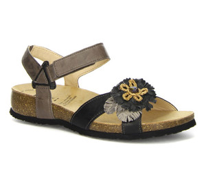 Think Women's Julia Backstrap Sandal Black/Kombi | Think 84349 09 Black/Kombi