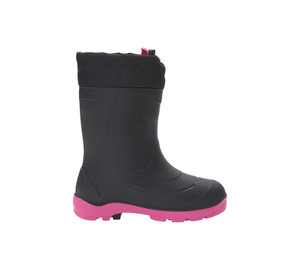 Kamik Youth Snobuster 1 Winter Boot Black/Magenta | Kamik Snobuster 1 Black/Magenta