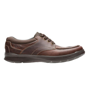 Clarks Men's Cotrell Edge Casual Oxford Brown Oily | Clarks 19803 Brown