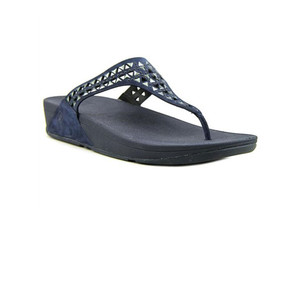 Fitflop Women's Carmel Toe Post Thong Supernavy | Fitflop 671-097 Supernavy