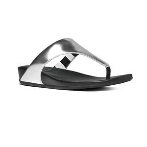 Fitflop Women's Banda Thong Silver | Fitflop 371-011 Silver