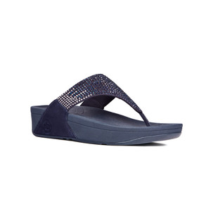Fitflop Women's Flare Thong Supernavy | Fitflop 302-097 Supernavy