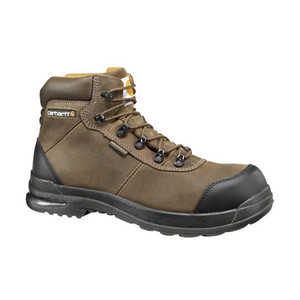 "Carhartt Men's 6"" Hiker Bal Boot Chocolate Brown 