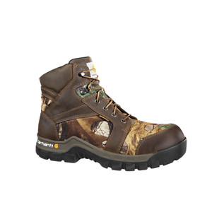 "Carhartt Men's Work Flex 6"" Work Boot Brown Camo 